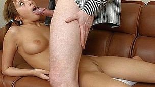 Youthful Chick In Unfathomable Facehole Wool Pie Fuck