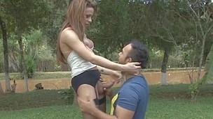 Nicole&Mateus shemale bonks dude movie