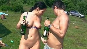 Naked outdoor fucking college chicks