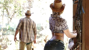 Cowboy style lovemaking with super hot and sexy Dani Daniels