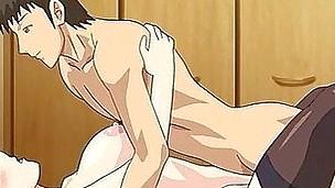 Manga pornography with threesome sex scenes