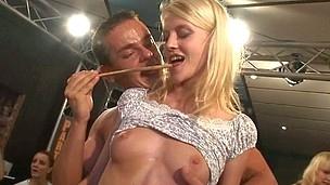 Group hookup horny patty at night club