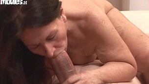This wild aged mamma gets fucked 2 fellows