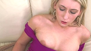 Lilly Swallows A Facehole Load of Cum