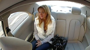 Steamy hot car fucking pleasures for sweet Angelina